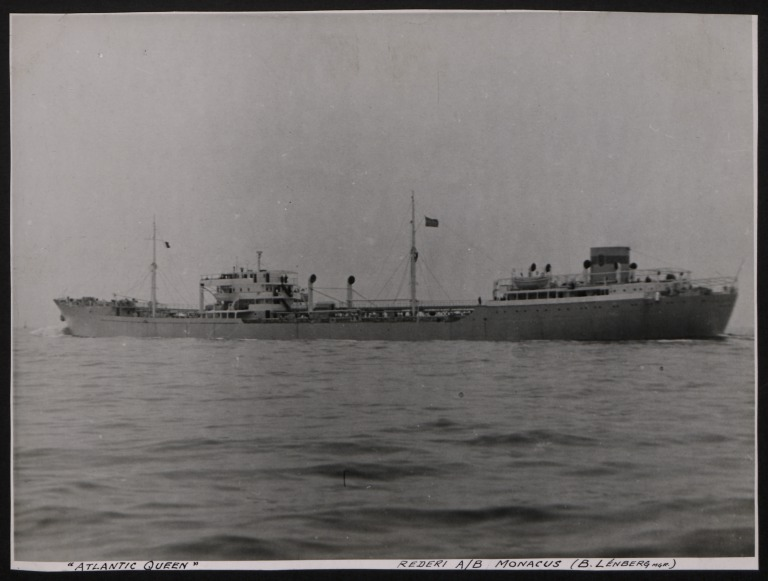 Photograph of Atlantic Queen, Rederi A/B Monacus card