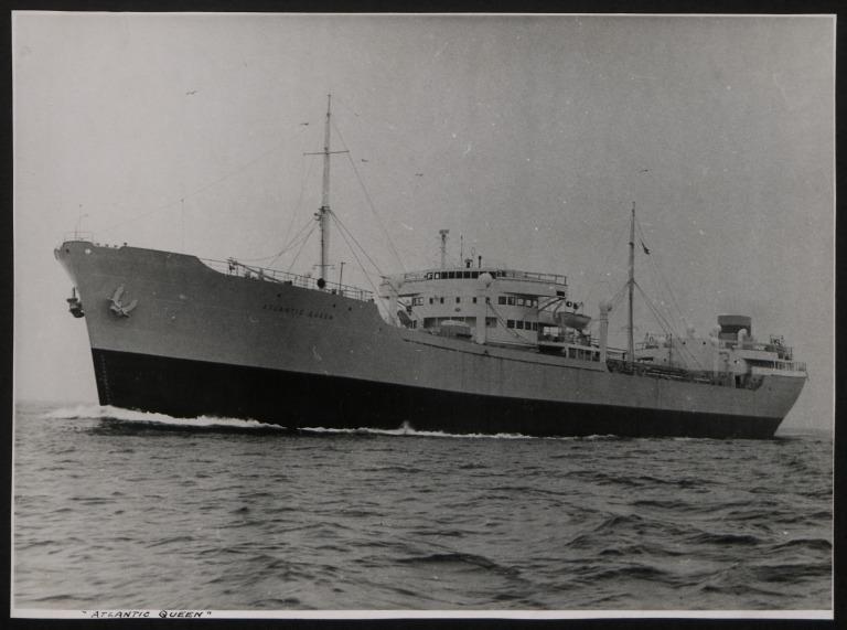 Photograph of Atlantic Queen, Rederi A/B Monacus card