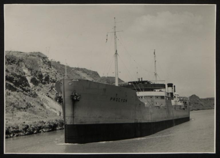 Photograph of Procyon, Trelleborgs Angfartygs A/B card