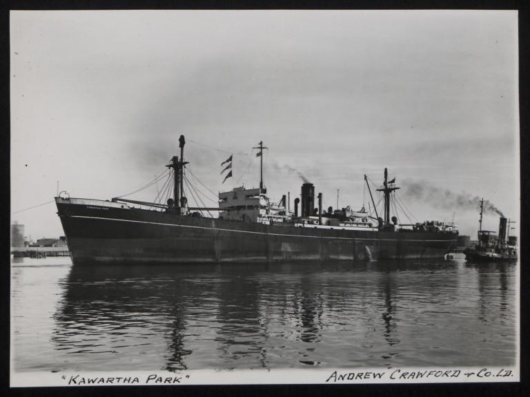 Photograph of Kawartha Park, A Crawford and Company card