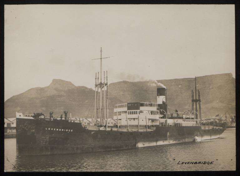 Photograph of Levenbridge, Crosby Son and Company card