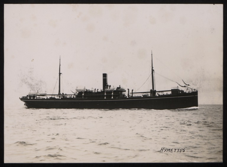 Photograph of Hymettus, A Currie and Company card
