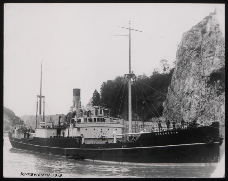 Photograph of Knebworth, R S Dalgliesh card