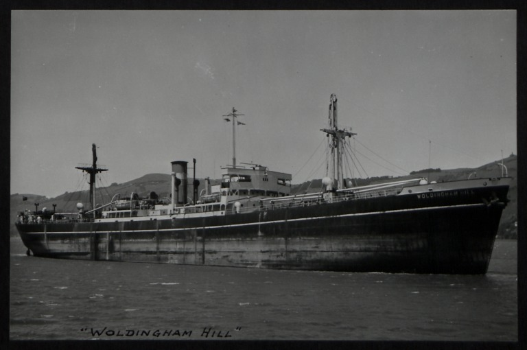Photograph of Woldingham Hill, Counties Ship Management Company card