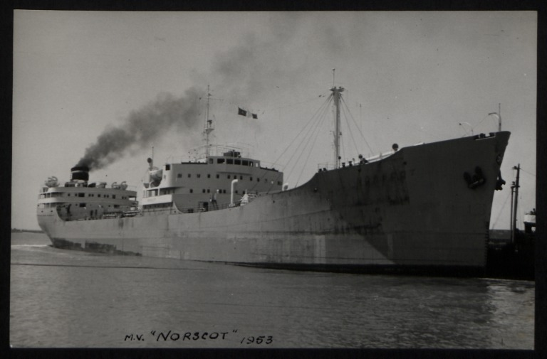 Photograph of Norscot, J and J Denholm card