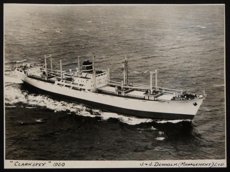 Photograph of Clarkspey, J and J Denholm card