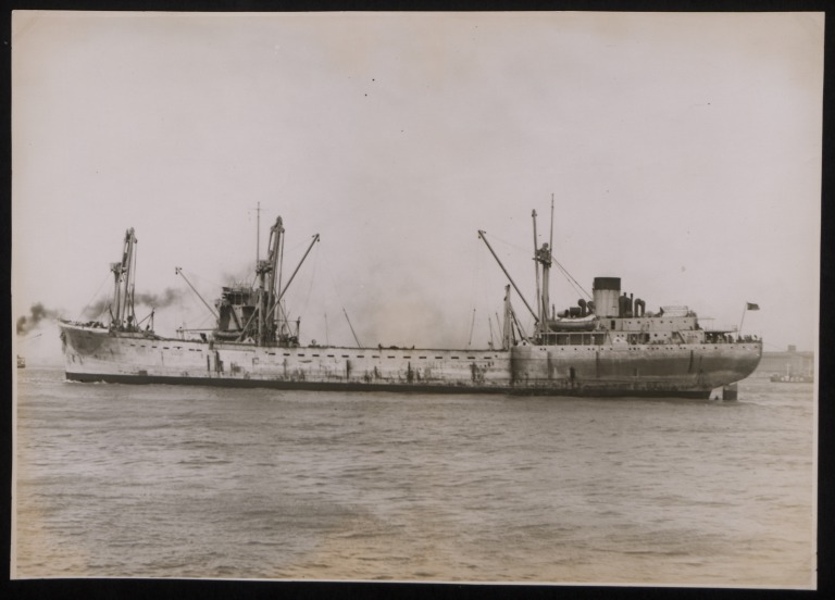 Photograph of Unidentified Vessel, Unknown card