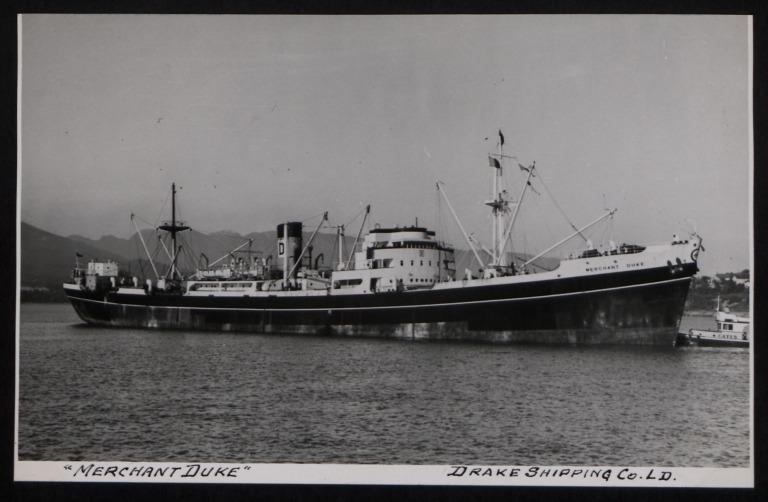 Photograph of Merchant Duke, Drake Shipping Co Ltd card