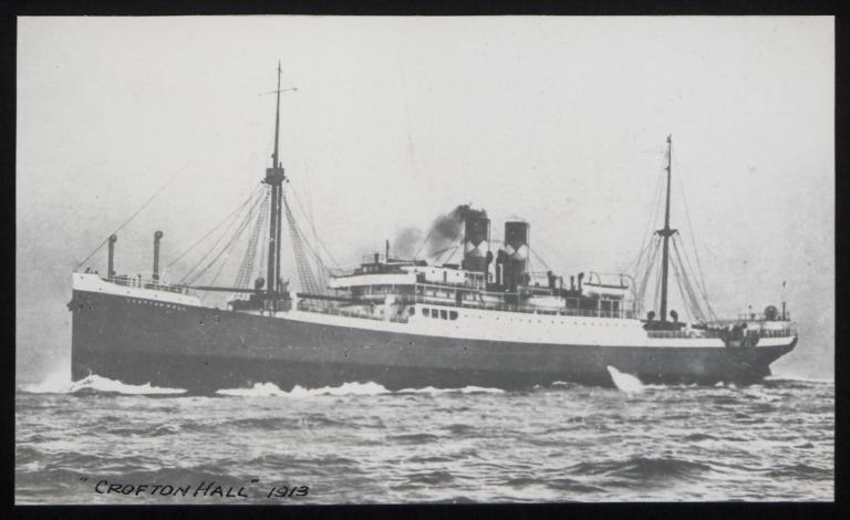 Photograph of Crofton Hall, C G Dunn and Co card