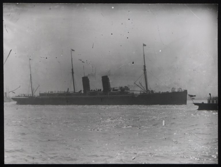 Photograph of Etruria, Cunard Line card