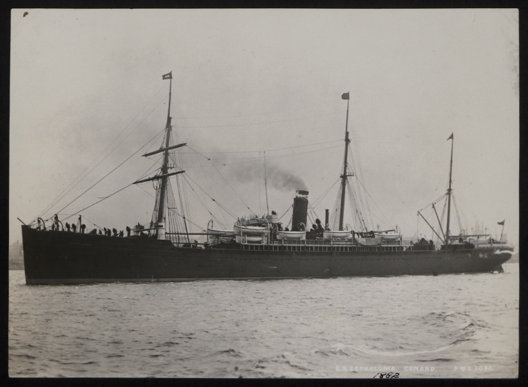 Photograph of Cephalonia, Cunard Line card