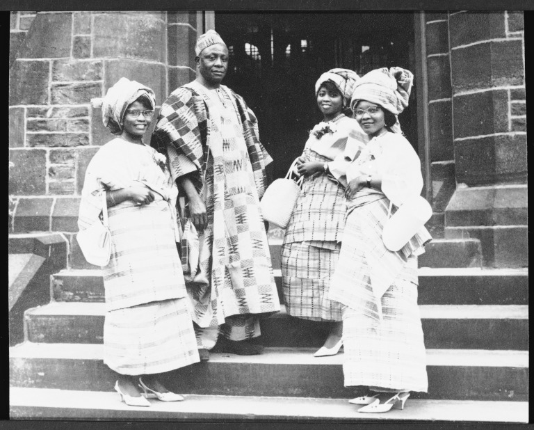 Nigerian Costume, Photograph card