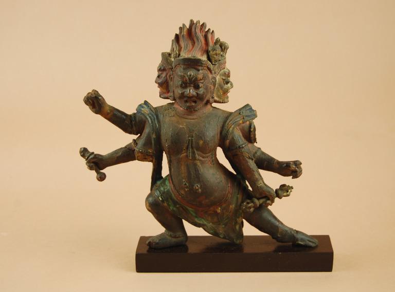 Religious Figure / Hayagriva card