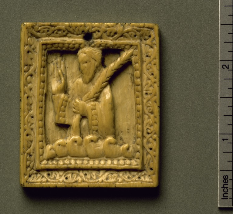Carved Panel of Martyr card