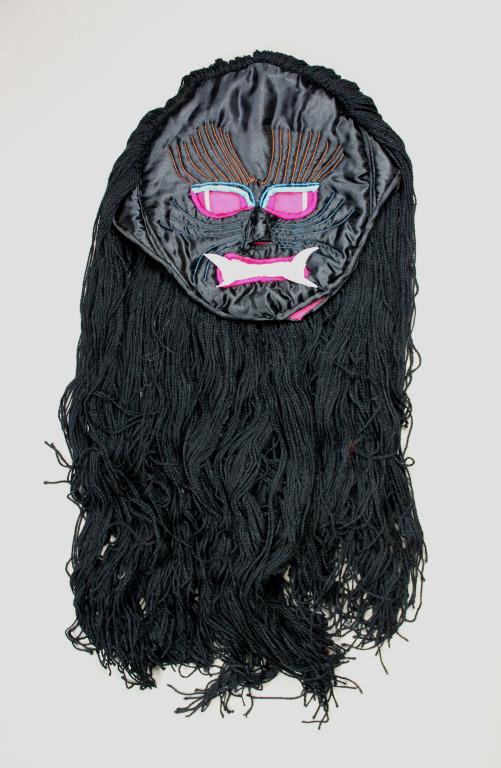 Black Srin mo / demoness's child mask card