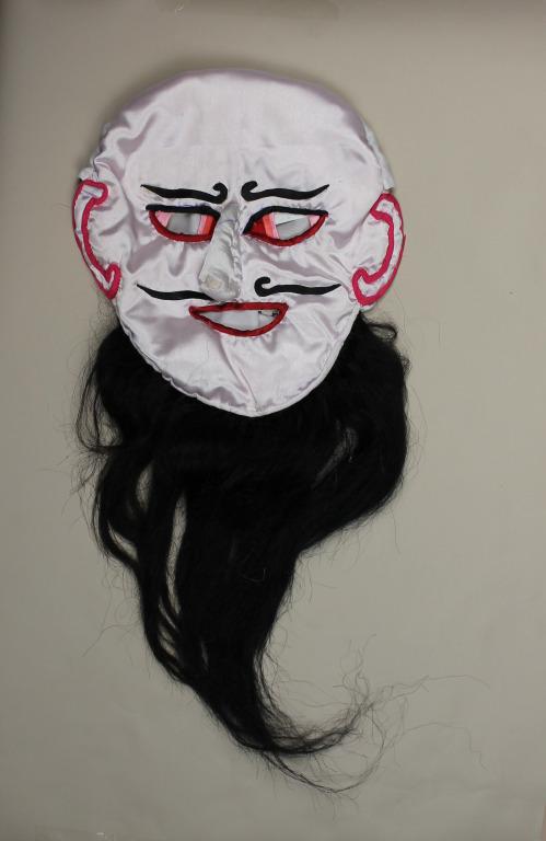 Mu stegs rgyal po / The heretic king mask card