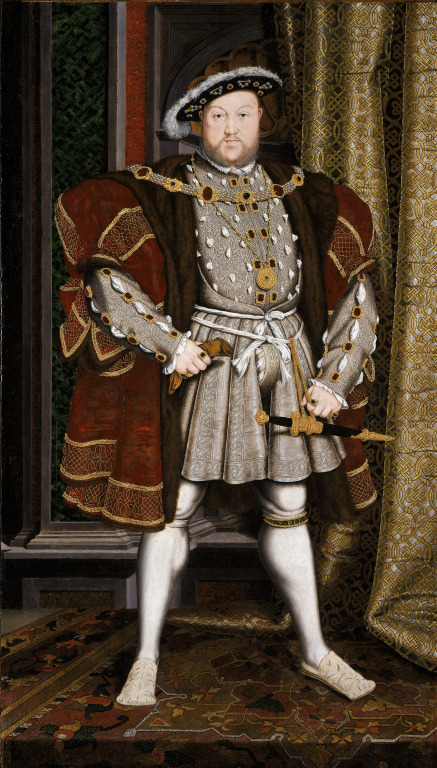 Henry VIII card