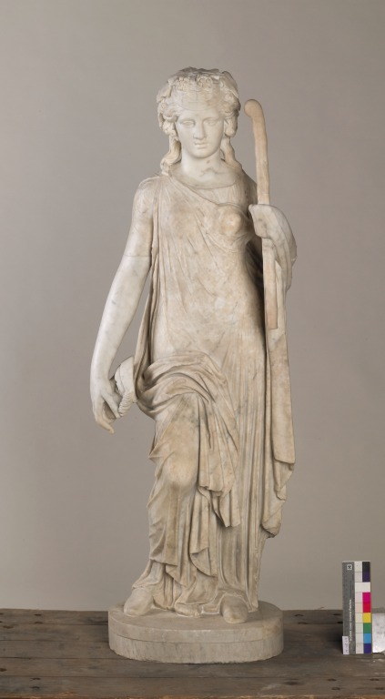 Statuette of Aphrodite card