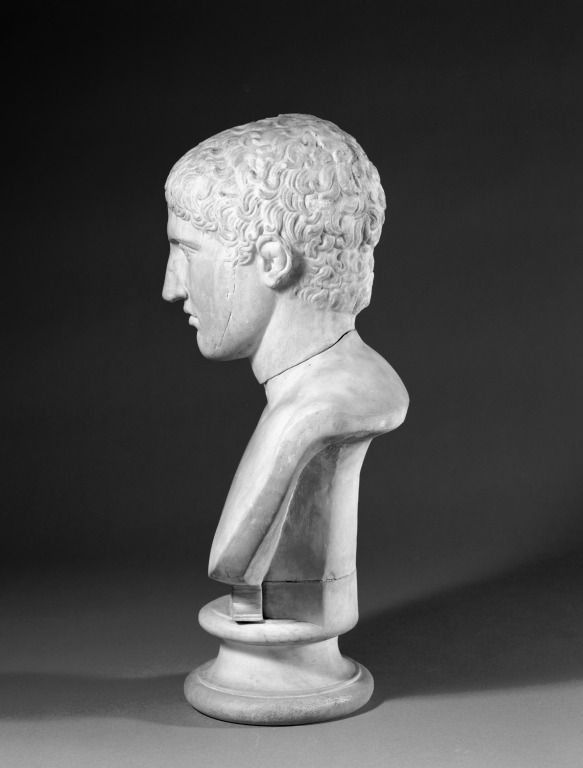 Bust of an Athlete card
