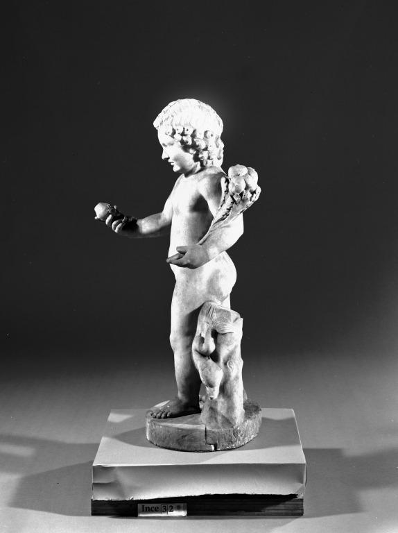 Statuette of Eros card