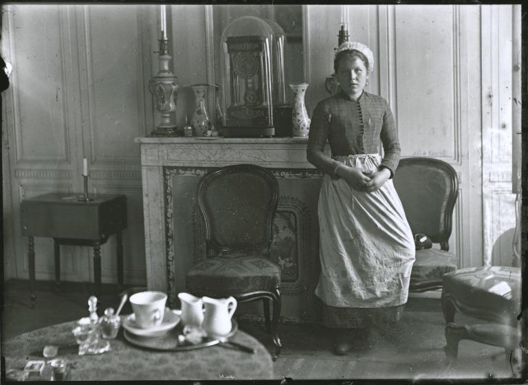 Maid, Rodney Street card