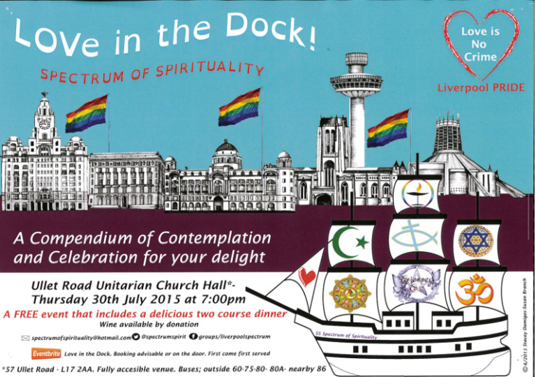 Poster, 'Love in the Dock!' card