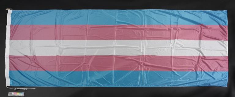 Transgender Pride Flag card