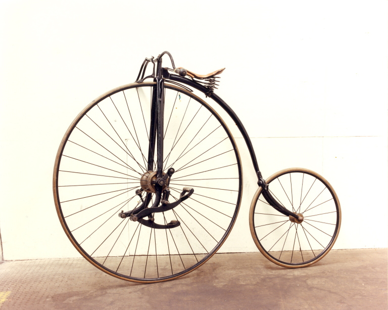 'Facile' Bicycle (penny-farthing) card