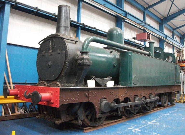 Mersey Railway locomotive No.5 Cecil Raikes card