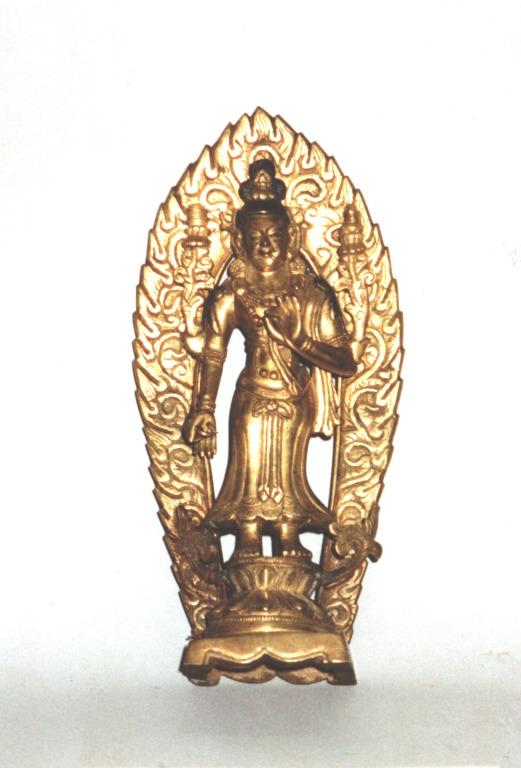 Religious Figure / Standing Padmapani card