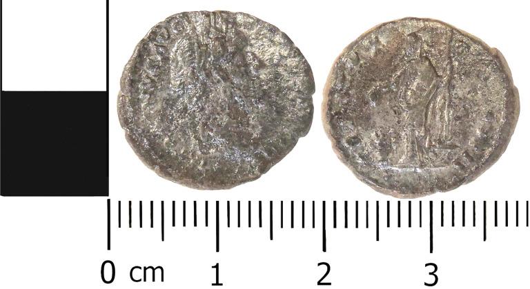 Coin; Denarius card
