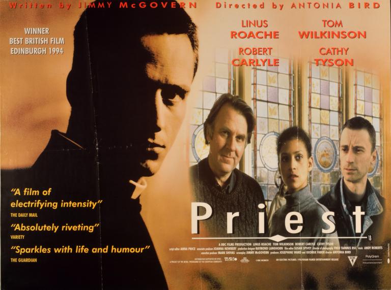Film Poster, 'Priest' card