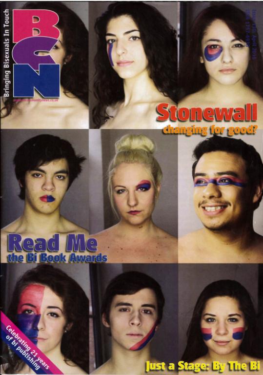 Magazine, 'BCN, Bringing Bisexuals In Touch' card