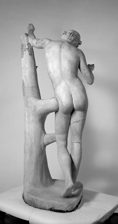 Statue of Apollo Sauroktonos card