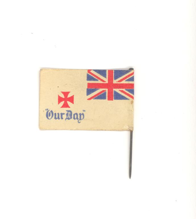 'Our Day' flag card