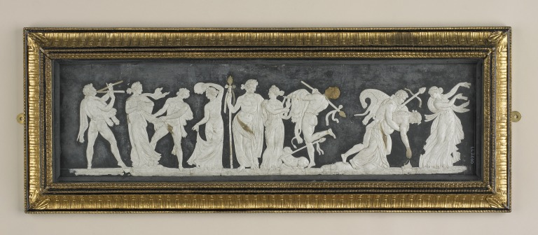 Borghese Vase Relief card