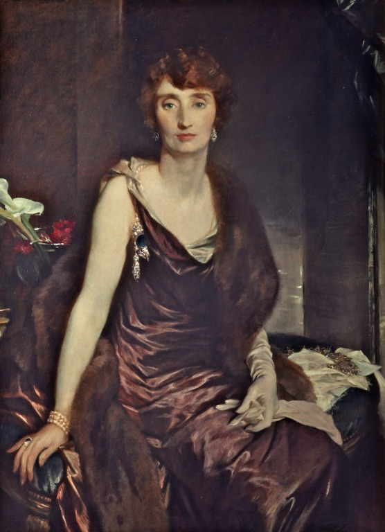 Portrait of Marchioness of Carisbrooke by Glyn Philpot