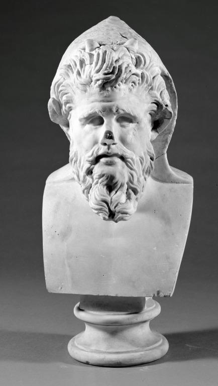 Bust of a Satyr card