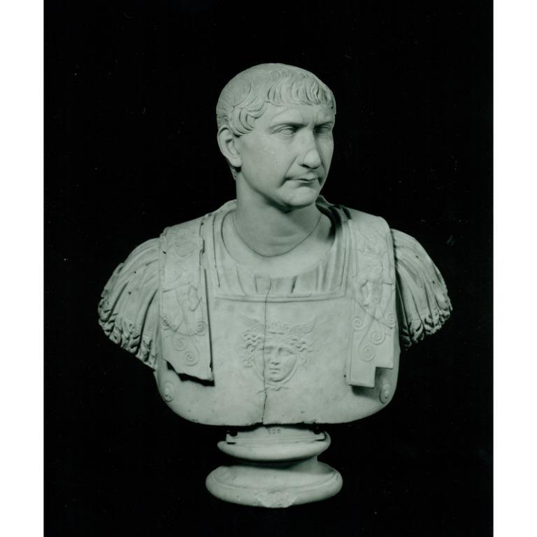Bust of Trajan card
