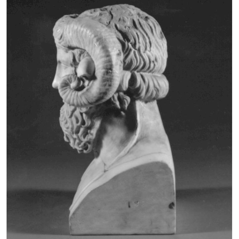 Herm of Zeus Ammon card