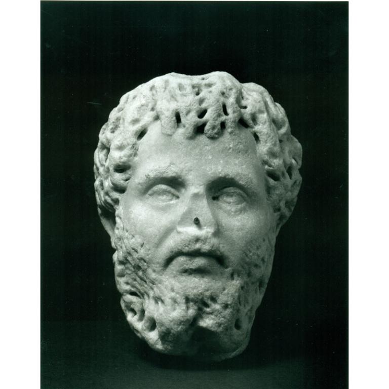 Portrait of Septimius Severus card