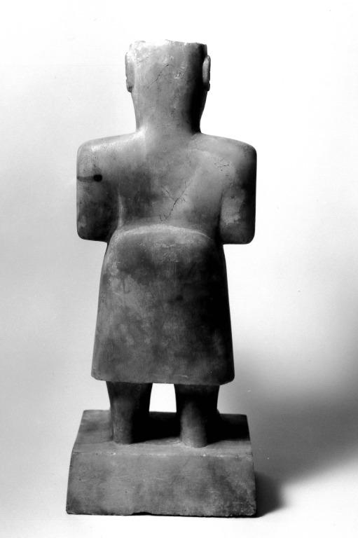 South Arabian Statue card