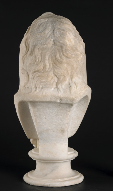 Bust of Eros as Herakles card