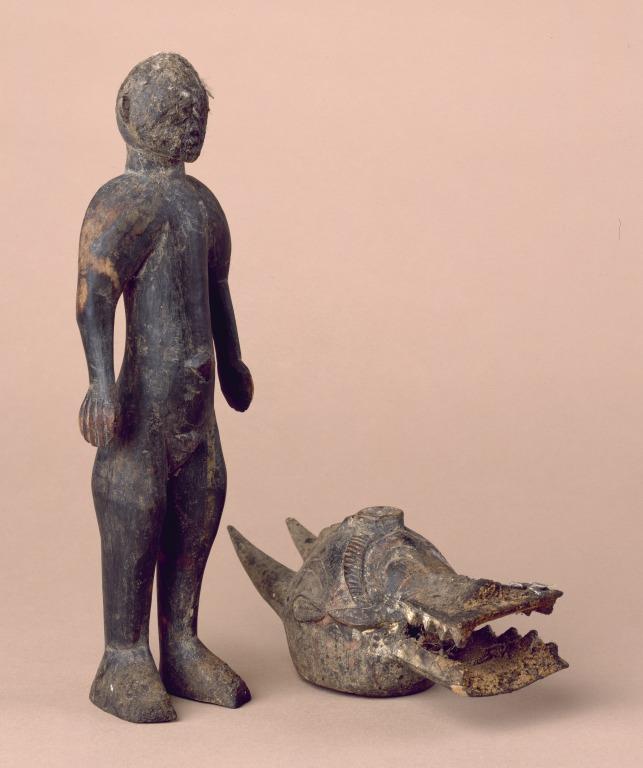 Shrine Figure With Mask card