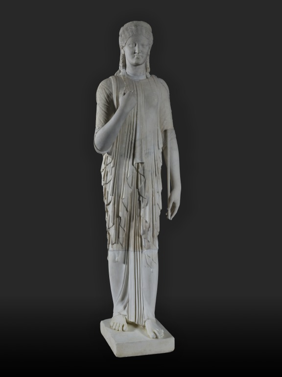 Statuette of Tyche card