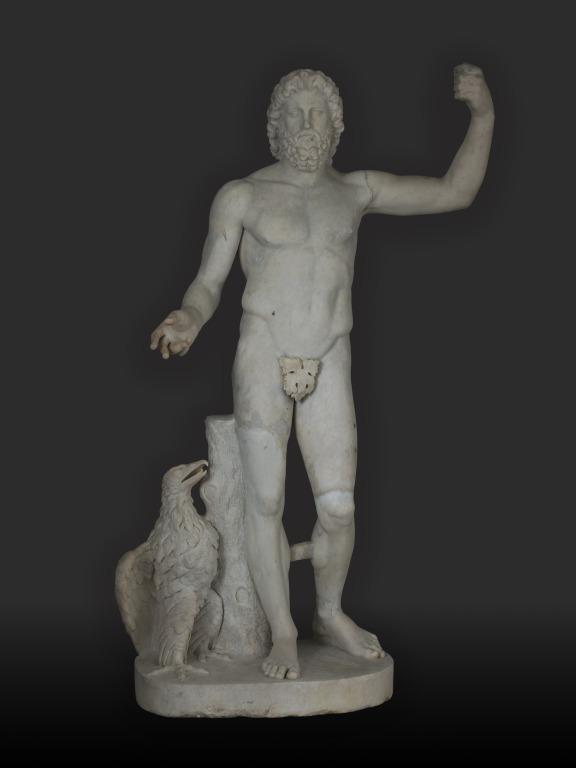 Statue of Zeus card