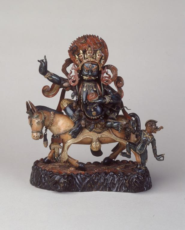 Religious Figure / Palden Lhamo card