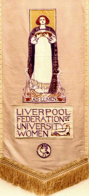 Liverpool Federation of University Women card
