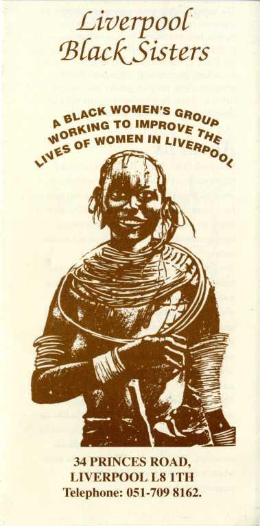 'Liverpool Black Sisters' card
