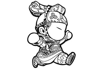 Mulan Coloring Pages Chinese Warriors - Get Coloring Pages | 240x360
